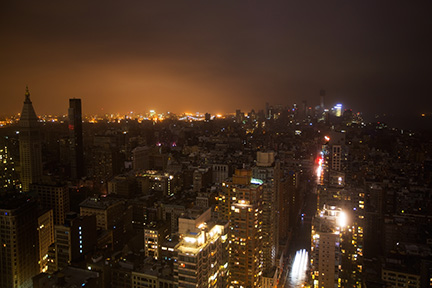 Hurricane Sandy Power Outage Lower Manhattan
