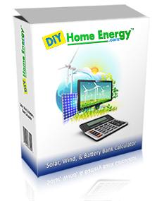 Solar Solar, wind, battery bank Calculator
